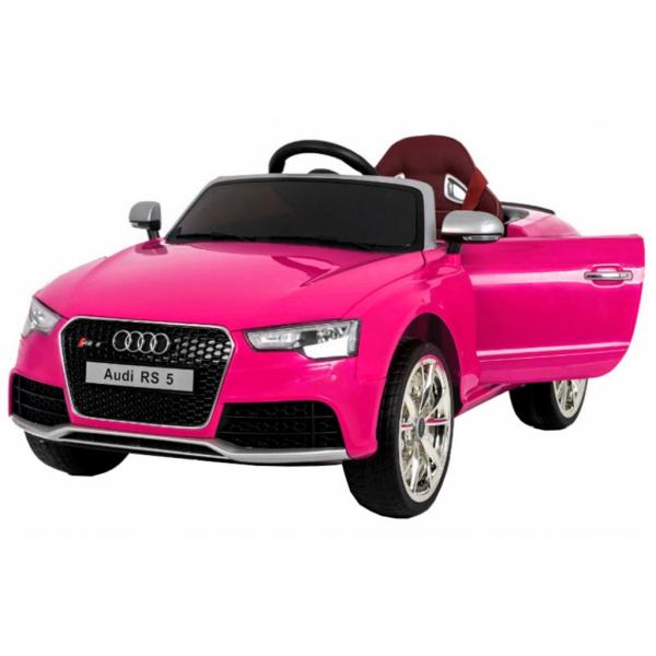Masinuta electrica Premier Audi RS5, 12V, roti cauciuc EVA, scaun piele ecologica 0