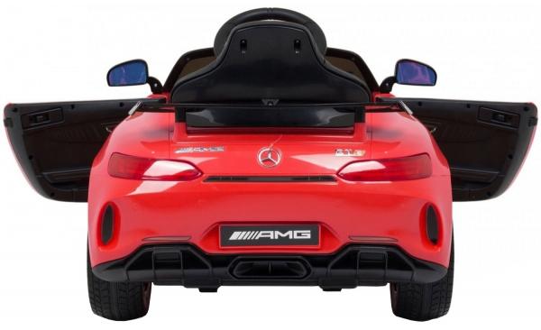 Masinuta electrica Premier Mercedes GT-R, 12V, roti cauciuc EVA, scaun piele ecologica 2