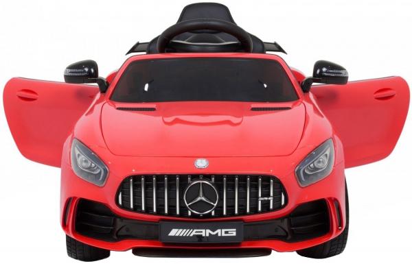Masinuta electrica Premier Mercedes GT-R, 12V, roti cauciuc EVA, scaun piele ecologica 1