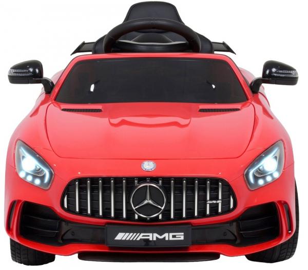 Masinuta electrica Premier Mercedes GT-R, 12V, roti cauciuc EVA, scaun piele ecologica 10