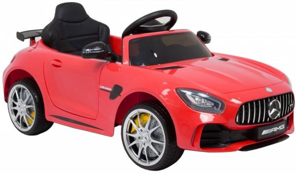 Masinuta electrica Premier Mercedes GT-R, 12V, roti cauciuc EVA, scaun piele ecologica 5