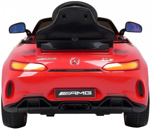 Masinuta electrica Premier Mercedes GT-R, 12V, roti cauciuc EVA, scaun piele ecologica 4