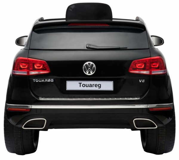 Masinuta electrica Premier Volkswagen Touareg, 12V, roti cauciuc EVA, scaun piele ecologica, negru 9