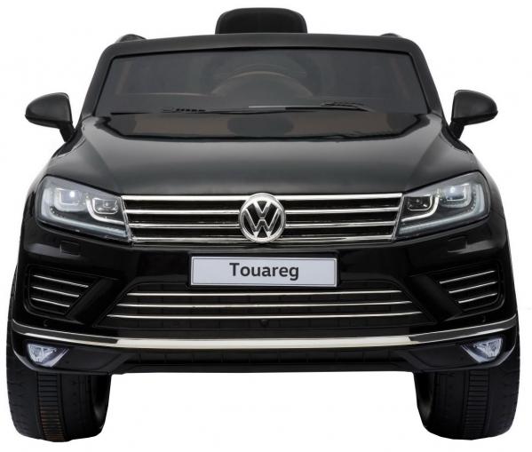 Masinuta electrica Premier Volkswagen Touareg, 12V, roti cauciuc EVA, scaun piele ecologica, negru 10