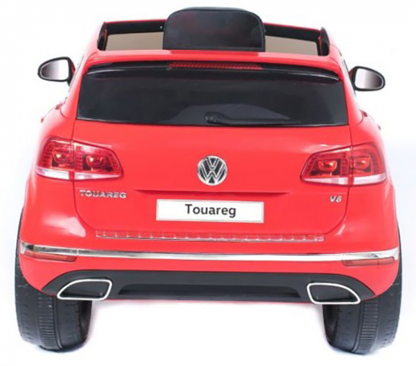 Masinuta electrica Premier Volkswagen Touareg, 12V, roti cauciuc EVA, scaun piele ecologica, rosu 8