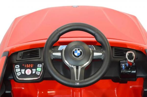 Masinuta electrica Premier BMW X5M, 12V, roti cauciuc EVA, scaun piele ecologica 3