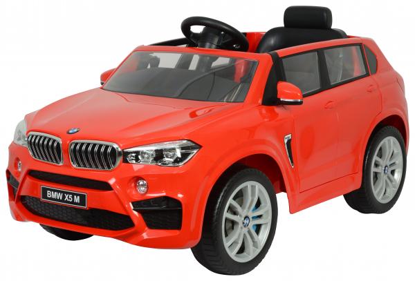 Masinuta electrica Premier BMW X5M, 12V, roti cauciuc EVA, scaun piele ecologica 0