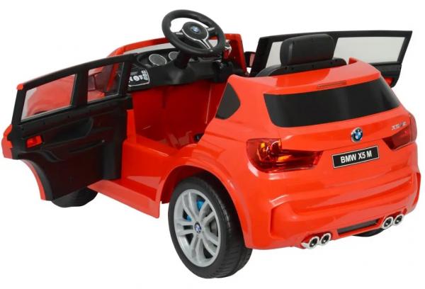 Masinuta electrica Premier BMW X5M, 12V, roti cauciuc EVA, scaun piele ecologica 2