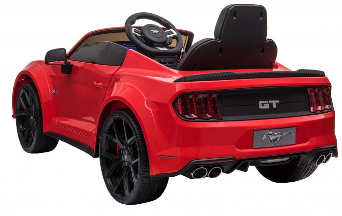 Masinuta electrica Premier Ford Mustang, 12V, roti cauciuc EVA, scaun piele ecologica, rosu [8]