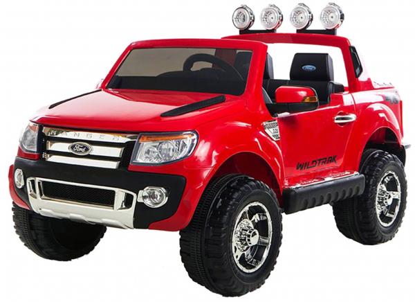 Masinuta electrica Premier Ford Ranger, 12V, roti cauciuc EVA, scaun piele ecologica, rosu 0