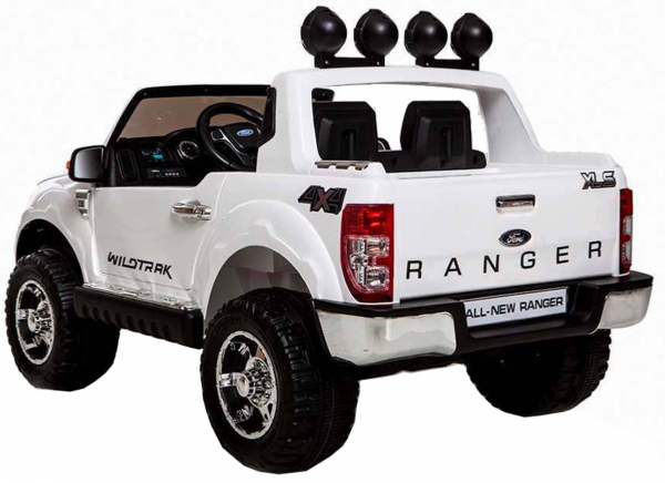 Masinuta electrica Premier Ford Ranger, 12V, roti cauciuc EVA, scaun piele ecologica 4