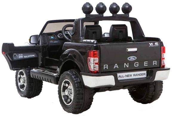 Masinuta electrica Premier Ford Ranger, 12V, roti cauciuc EVA, scaun piele ecologica, negru [3]