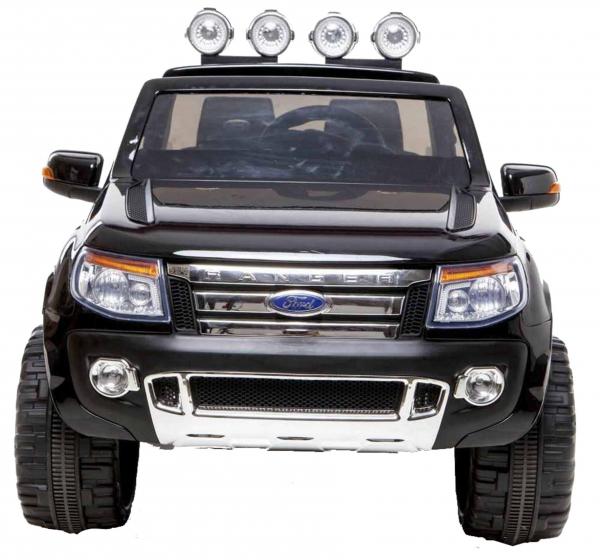 Masinuta electrica Premier Ford Ranger, 12V, roti cauciuc EVA, scaun piele ecologica, negru [5]