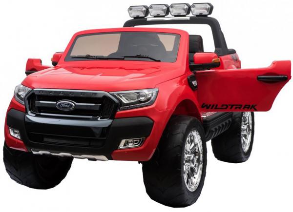 Masinuta electrica Premier Ford Ranger 4x4, 12V, roti cauciuc EVA, scaun piele ecologica, rosu 6