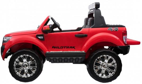 Masinuta electrica Premier Ford Ranger 4x4, 12V, roti cauciuc EVA, scaun piele ecologica, rosu 3