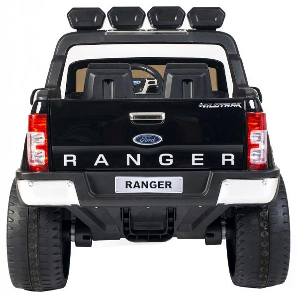 Masinuta electrica Premier Ford Ranger 4x4, 12V, roti cauciuc EVA, scaun piele ecologica, negru [4]