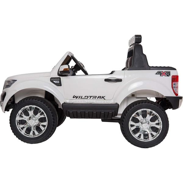 Masinuta electrica Premier Ford Ranger 4x4, 12V, roti cauciuc EVA, scaun piele ecologica, alb 1