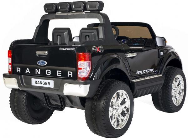 Masinuta electrica Premier Ford Ranger 4x4, 12V, roti cauciuc EVA, scaun piele ecologica, negru [5]