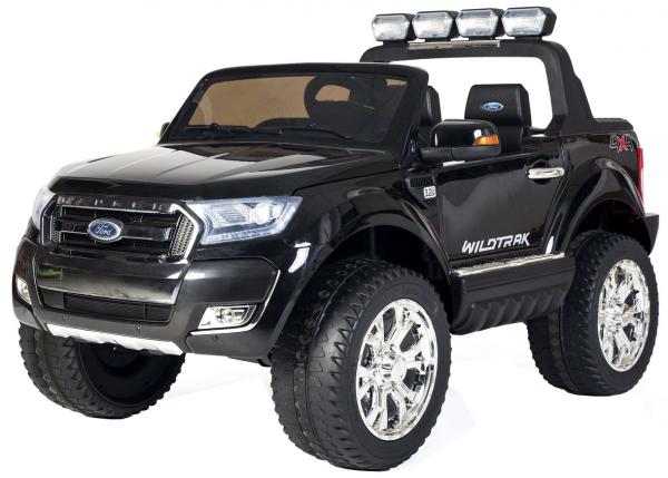 Masinuta electrica Premier Ford Ranger 4x4, 12V, roti cauciuc EVA, scaun piele ecologica, negru [0]