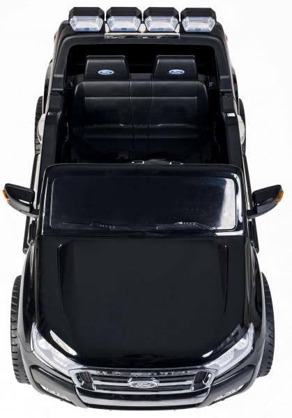 Masinuta electrica Premier Ford Ranger 4x4, 12V, roti cauciuc EVA, scaun piele ecologica, negru [7]