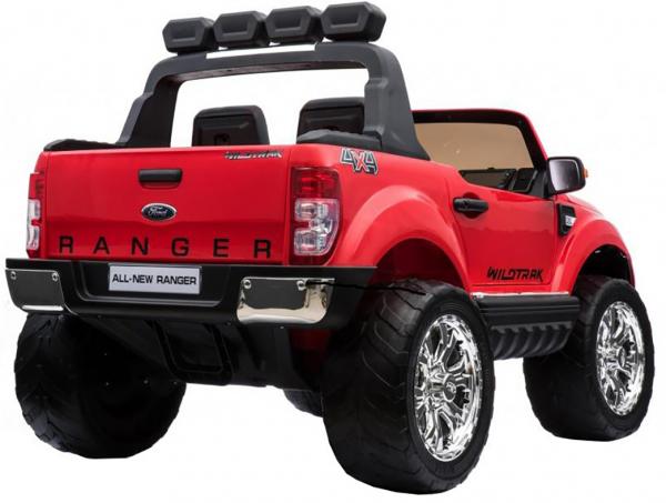 Masinuta electrica Premier Ford Ranger 4x4, 12V, roti cauciuc EVA, scaun piele ecologica, rosu 8