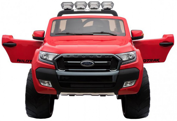 Masinuta electrica Premier Ford Ranger 4x4, 12V, roti cauciuc EVA, scaun piele ecologica, rosu 5