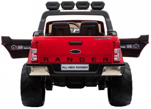 Masinuta electrica Premier Ford Ranger 4x4, 12V, roti cauciuc EVA, scaun piele ecologica, rosu 7