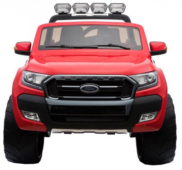 Masinuta electrica Premier Ford Ranger 4x4, 12V, roti cauciuc EVA, scaun piele ecologica, rosu 1