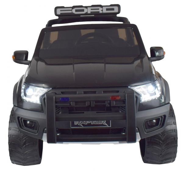 Masinuta electrica politie Premier Ford Raptor, 12V, roti cauciuc EVA, scaun piele ecologica 8