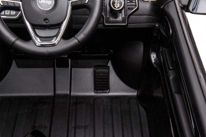 Masinuta electrica Premier Jeep Grand Cherokee, 12V, roti cauciuc EVA, scaun piele ecologica, negru [20]