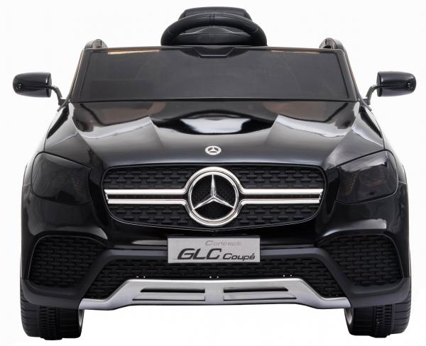 Masinuta electrica Premier Mercedes GLC Concept Coupe, 12V, roti cauciuc EVA, scaun piele ecologica, negru [1]