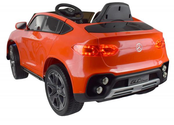 Masinuta electrica Premier Mercedes GLC Concept Coupe, 12V, roti cauciuc EVA, scaun piele ecologica, rosu 7