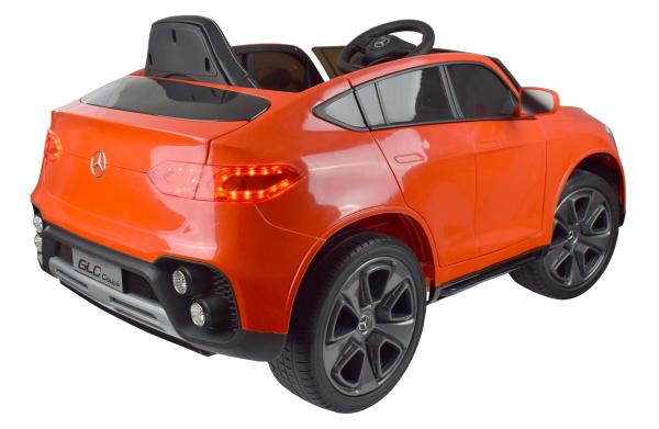 Masinuta electrica Premier Mercedes GLC Concept Coupe, 12V, roti cauciuc EVA, scaun piele ecologica, rosu 14