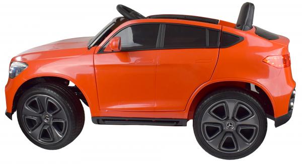 Masinuta electrica Premier Mercedes GLC Concept Coupe, 12V, roti cauciuc EVA, scaun piele ecologica, rosu 8