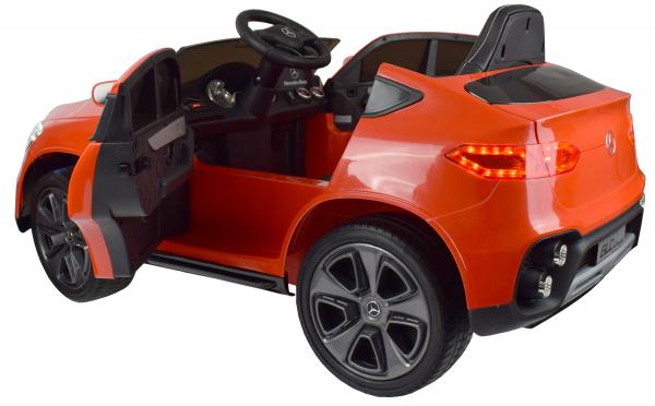 Masinuta electrica Premier Mercedes GLC Concept Coupe, 12V, roti cauciuc EVA, scaun piele ecologica, rosu 3