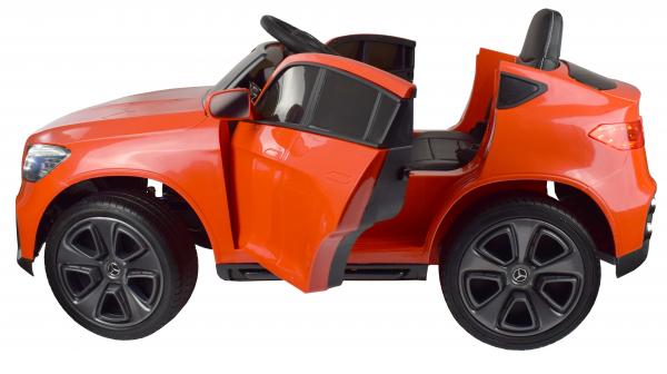 Masinuta electrica Premier Mercedes GLC Concept Coupe, 12V, roti cauciuc EVA, scaun piele ecologica, rosu 4