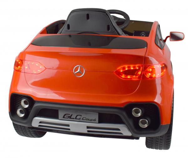 Masinuta electrica Premier Mercedes GLC Concept Coupe, 12V, roti cauciuc EVA, scaun piele ecologica, rosu 15