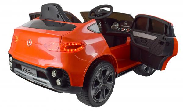 Masinuta electrica Premier Mercedes GLC Concept Coupe, 12V, roti cauciuc EVA, scaun piele ecologica, rosu 1