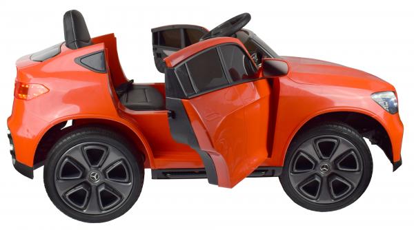 Masinuta electrica Premier Mercedes GLC Concept Coupe, 12V, roti cauciuc EVA, scaun piele ecologica, rosu 16