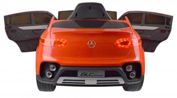 Masinuta electrica Premier Mercedes GLC Concept Coupe, 12V, roti cauciuc EVA, scaun piele ecologica, rosu 2