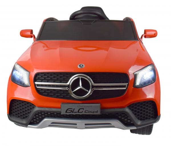 Masinuta electrica Premier Mercedes GLC Concept Coupe, 12V, roti cauciuc EVA, scaun piele ecologica, rosu 10