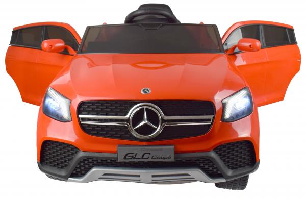 Masinuta electrica Premier Mercedes GLC Concept Coupe, 12V, roti cauciuc EVA, scaun piele ecologica, rosu 6