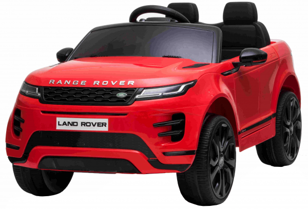 Masinuta electrica Premier Range Rover Evoque, 12V, roti cauciuc EVA, scaun piele ecologica, rosu [12]