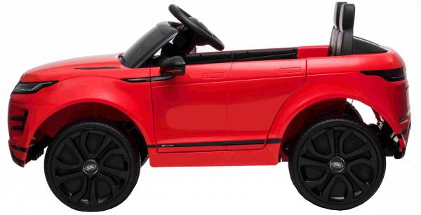 Masinuta electrica Premier Range Rover Evoque, 12V, roti cauciuc EVA, scaun piele ecologica, rosu [9]