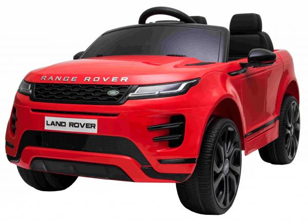 Masinuta electrica Premier Range Rover Evoque, 12V, roti cauciuc EVA, scaun piele ecologica, rosu [0]