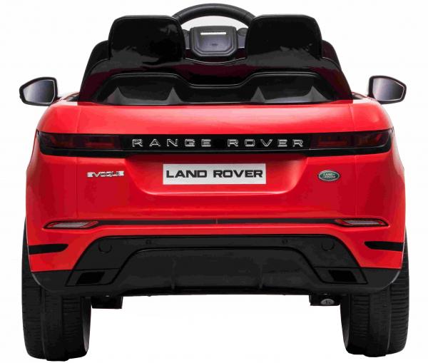 Masinuta electrica Premier Range Rover Evoque, 12V, roti cauciuc EVA, scaun piele ecologica, rosu [7]