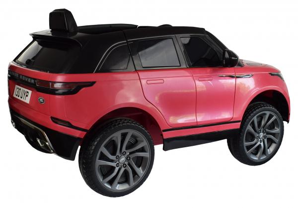 Masinuta electrica Premier Range Rover Velar, 12V, roti cauciuc EVA, scaun piele ecologica, roz [14]