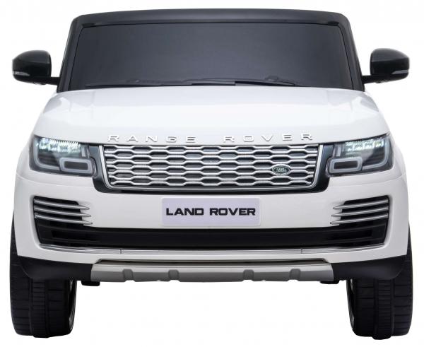 Masinuta electrica Premier Range Rover Vogue HSE, 12V, 2 locuri, roti cauciuc EVA, scaun piele ecologica, alb 1