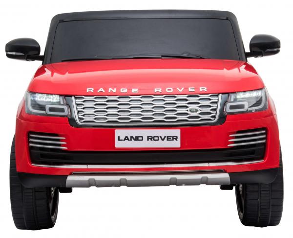 Masinuta electrica Premier Range Rover Vogue HSE, 12V, 2 locuri, roti cauciuc EVA, scaun piele ecologica, rosu [1]