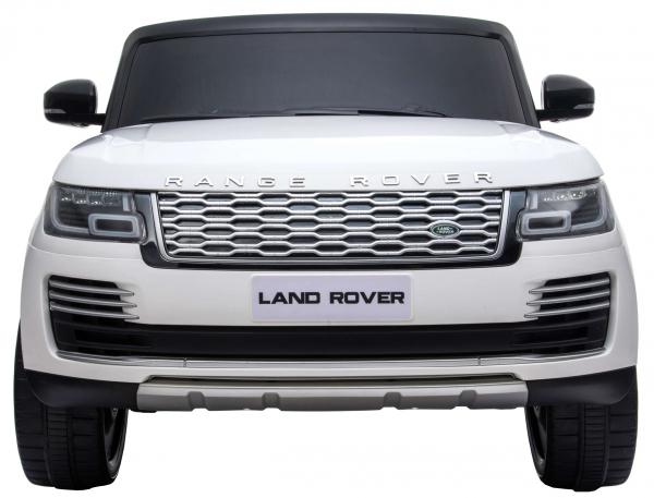 Masinuta electrica Premier Range Rover Vogue HSE, 12V, 2 locuri, roti cauciuc EVA, scaun piele ecologica, alb 15